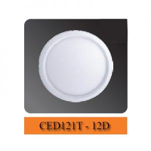 Đèn led ốp trần 12W CED121T-12D Comet